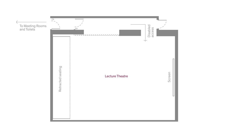 Lecture Theatre basic floorplan
