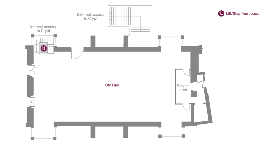 Old Hall basic floorplan