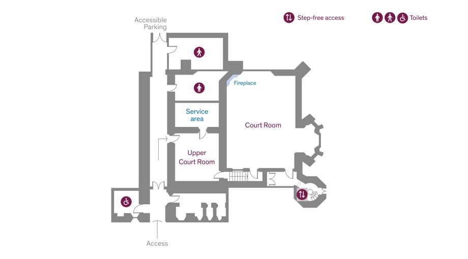 Empty Floor Plan